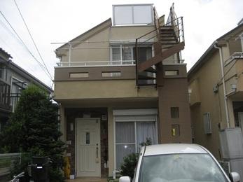 東京都西東京市 S様邸 屋根葺替・外壁塗装・設備交換工事