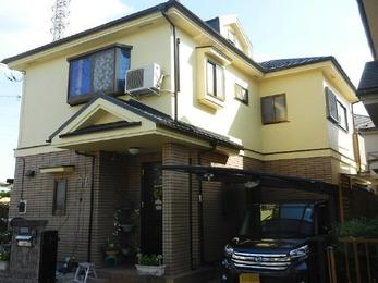 東京都小平市 M様邸 屋根上葺及び外壁塗装他工事