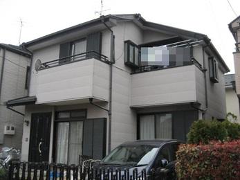 東京都東村山市 H様邸 屋根上葺き及び外壁塗装工事