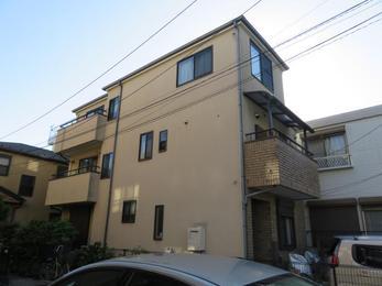 東京都調布市 Y様邸 外壁塗装及び屋根上葺き工事