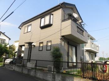 東京都町田市 N様邸 外壁塗装・屋根上葺工事