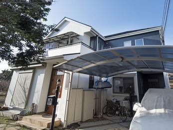 東京都国立市 I様邸 屋根外壁塗装工事