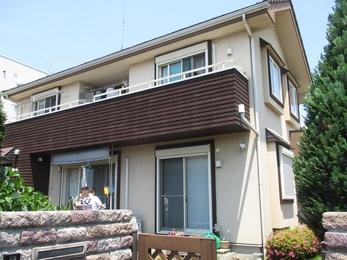 東京都小平市 S様邸 外壁塗装工事