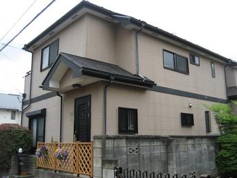 東京都小平市 H様邸 外壁塗装工事