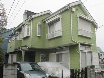 東京都小平市 U様邸 屋根・外壁塗装工事