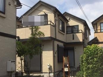 東京都西東京市 K様邸 外壁屋根塗装工事
