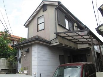 東京都小平市 W様邸 外壁屋根塗装工事