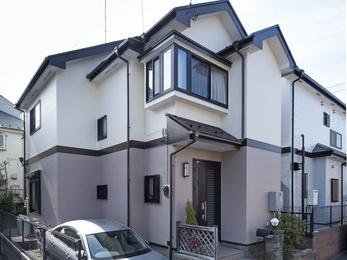 東京都東久留米市 K様邸 外壁屋根塗装工事