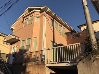 東京都町田市 S様邸 屋根外壁塗装工事
