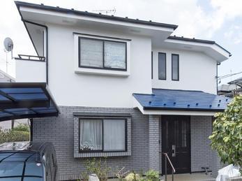 東京都小平市 W様邸 外壁・屋根塗装工事