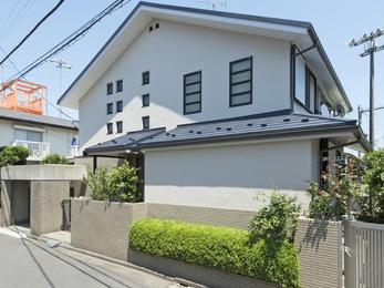 東京都国分寺市 A様邸 屋根上葺き・外壁塗装工事