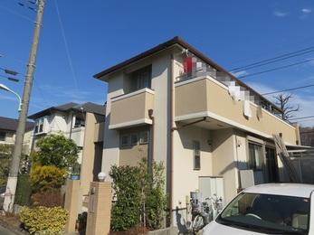 東京都町田市 F様邸 屋根外壁塗装工事