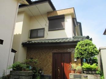 東京都小平市 K様邸 外壁塗装工事