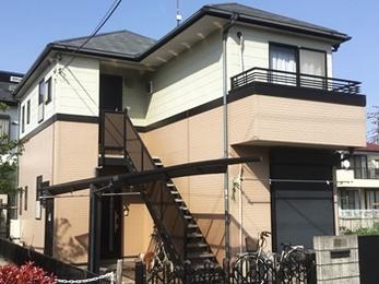 東京都 I様邸 屋根・外壁塗装工事