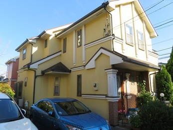 神奈川県川崎市 T様邸 屋根外壁塗装工事