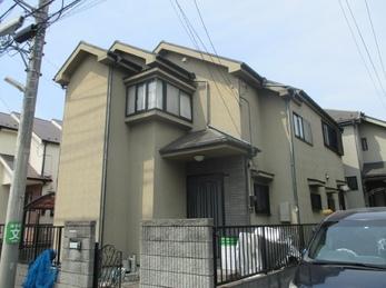 東京都小平市 I様邸 屋根外壁塗装工事
