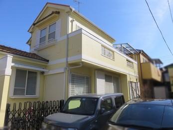 東京都国分寺市 W様邸 屋根外壁塗装工事
