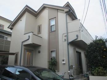 東京都小平市 K様邸 外壁屋根塗装工事