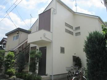 東京都調布市 F様邸 外壁塗装工事