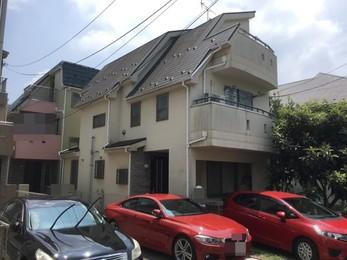 東京都国分寺市 N様邸 屋根カバー工法・外壁塗装工事