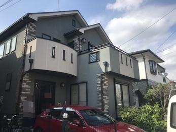 神奈川県相模原市 K様邸 屋根外壁塗装工事