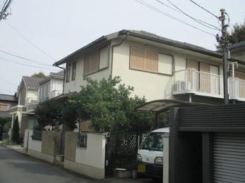 東京都国分寺市 S様邸 屋根外壁塗装工事