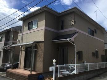東京都町田市 S様邸 屋根カバー工法・外壁塗装工事