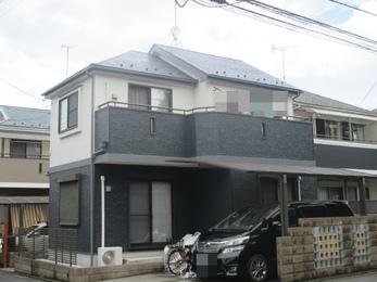 東京都東久留米市 I様邸 屋根外壁塗装工事