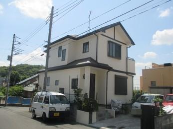 東京都 N様邸 屋根カバー工法・外壁塗装工事