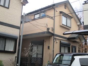 東京都東久留米市 T様邸 屋根外壁塗装工事
