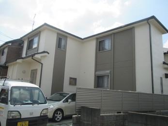 東京都東久留米市 Y様邸 屋根カバー・外壁塗装工事