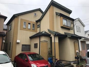 神奈川県相模原市 M様邸 屋根カバー・外壁塗装工事