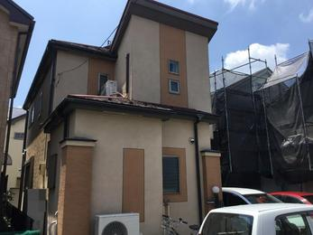神奈川県相模原市 T様邸 屋根カバー外壁塗装工事