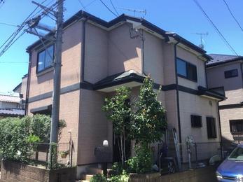 東京都東久留米市 K様邸 屋根外壁塗装工事