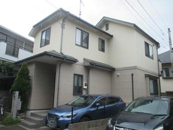 東京都府中市 K様邸 屋根外壁塗装工事