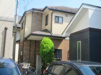東京都府中市 I様邸 屋根外壁塗装工事