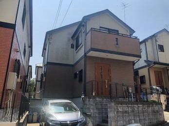 東京都町田市 U様邸 屋根カバー・外壁塗装工事