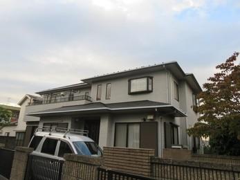 神奈川県相模原市 E様邸 屋根外壁塗装工事