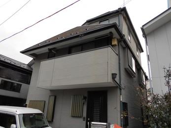 東京都町田市 N様邸 屋根外壁塗装工事