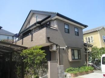 東京都小平市 I様邸 外壁塗装工事