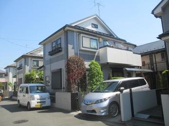 東京都立川市 K様邸 屋根上葺・外壁塗装工事