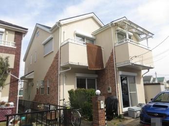 東京都東大和市 I様邸 屋根・外壁塗装工事