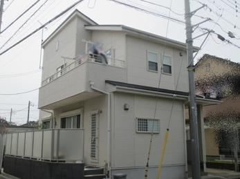 東京都東久留米市 K様邸 屋根・外壁塗装工事