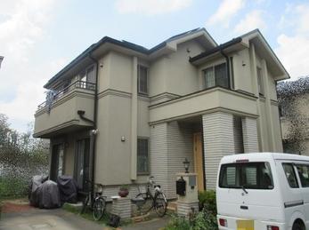 東京都立川市 K様邸 屋根外壁塗装工事