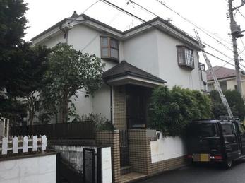 東京都小平市 T様邸 屋根外壁塗装工事