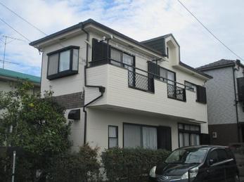 東京都立川市 S様邸 外壁塗装工事