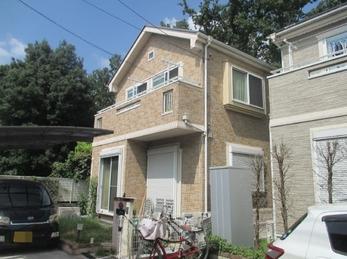 東京都東久留米市 S様邸 屋根外壁塗装工事