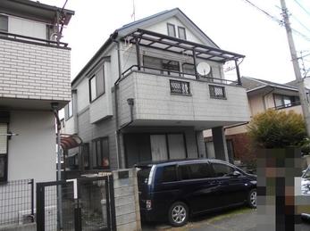 東京都小金井市 A様邸 屋根外壁塗装工事