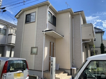 東京都小平市 A様邸 屋根外壁塗装工事