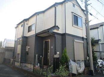東京都東久留米市 N様邸 屋根上葺・外壁塗装工事